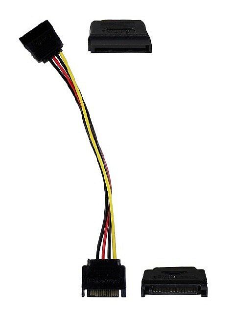 Kabel Power SATA 15pin Male Female